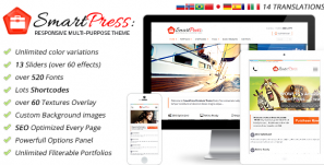 SmartPress – Responsive Multi-Purpose Theme