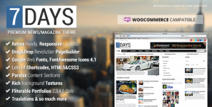 7Days – WordPress News/Magazine Theme